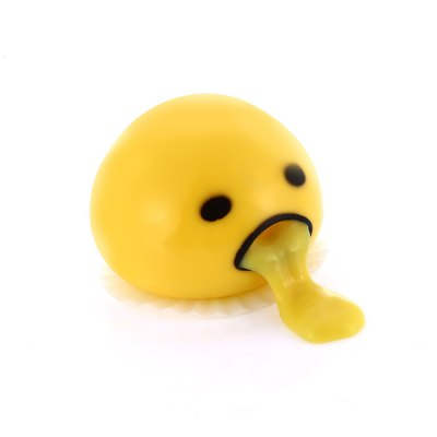 Tricky Vomiting Yolk Bun Toy