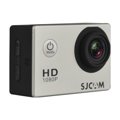 Original SJCAM SJ4000 Sport Camera 1080PAction Cameras<br>Original SJCAM SJ4000 Sport Camera 1080P<br><br>Brand: SJCAM<br>Model: SJ4000<br>Type: Sports Camera<br>Type of Camera: 1080P<br>Chipset Name: Novatek<br>Chipset: Novatek 96650<br>Max External Card Supported: TF 32G (not included)<br>Class Rating Requirements: Class 10 or Above<br>Screen size: 2.0inch<br>Screen type: LTPS<br>Battery Type: Removable<br>Capacity: 900mAh<br>Charge way: AC adapter,USB charge by PC<br>Working Time: 70 minutes at 1080P<br>Wide Angle: 170 degree wide angle<br>Camera Pixel : 12MP<br>Optical Zoom  : Yes<br>Decode Format: H.264<br>Video format: MOV<br>Video Resolution: 1080P(30fps),720P (60fps),QVGA (640 x 480),VGA (848 x 480)<br>Video Frame Rate: 30FPS,60FPS<br>Video Output : HDMI<br>Image Format : JPG<br>Audio System: Built-in microphone/speaker (AAC)<br>Motion Detection: Yes<br>HDMI Output: Yes<br>Language: English,French,German,Italian,Japanese,Korean,Portuguese,Russian,Simplified Chinese,Spanish<br>Frequency: 50Hz,60Hz<br>Product weight: 0.062 kg<br>Package weight: 0.683 kg<br>Product size (L x W x H): 5.83 x 2.43 x 4.00 cm / 2.3 x 0.96 x 1.57 inches<br>Package size (L x W x H): 25.00 x 13.00 x 6.50 cm / 9.84 x 5.12 x 2.56 inches<br>Package Contents: 1 x Action Camera, 1 x Battery, 1 x Waterproof Case + Quick Released Mount + Screw, 1 x Backdoor Housing, 1 x Bicycle Handle Mount, 1 x J-shaped Mount, 1 x Frame Cage, 1 x Tripod Mount Adapter, 1 x Tr