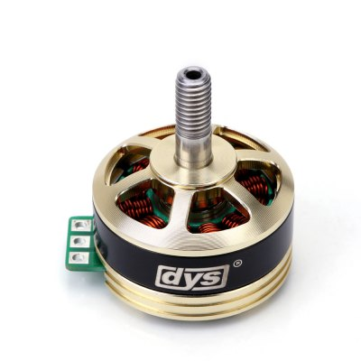 DYS SE2205 - PRO 2300KV Brushless MotorMotor<br>DYS SE2205 - PRO 2300KV Brushless Motor<br><br>Brand: DYS<br>Internal Resistance: 0.06ohms<br>KV: 2300kV<br>Max. Continuous Current (A): 26.8A<br>Max. Continuous Power (W): 428.8W<br>Motor Dimensions: 27.7 x 19.2mm<br>Motor Type: Brushless Motor<br>No. of Cells: 3 - 5S<br>Package Contents: 1 x SE2205 - PRO Motor, 10 x Screw, 2 x Nut<br>Package size (L x W x H): 9.00 x 3.00 x 2.00 cm / 3.54 x 1.18 x 0.79 inches<br>Package weight: 0.114 kg<br>Product weight: 0.029 kg<br>Shaft Diameter: 3.0mm<br>Stator Diameter: 22.0mm<br>Stator Length: 5.0mm<br>Type: Motor