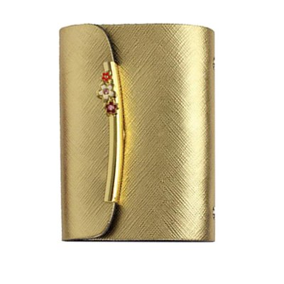 Stylish Taiga Leather Wallet Hasp Closure Card Holder for Men WomenCoin Purse &amp; Card Holder<br>Stylish Taiga Leather Wallet Hasp Closure Card Holder for Men Women<br><br>Color: Black,Blue,Gold,Purple,Red<br>Material: Leather<br>Package Size(L x W x H): 25.00 x 15.00 x 2.00 cm / 9.84 x 5.91 x 0.79 inches<br>Package weight: 0.100 kg<br>Packing List: 1 x Card Holder<br>Product Size(L x W x H): 10.30 x 7.50 x 1.00 cm / 4.06 x 2.95 x 0.39 inches<br>Product weight: 0.060 kg<br>Style: Casual