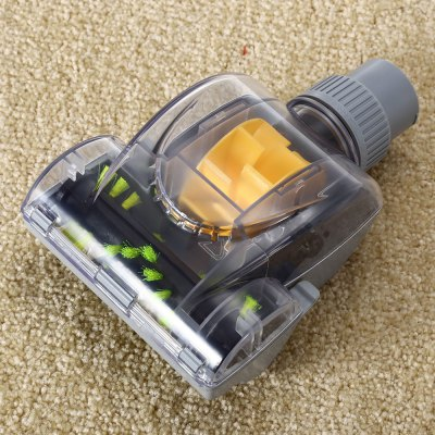 Vacuum Cleaner Accessories Turbo BrushRobot Vacuum Accessories<br>Vacuum Cleaner Accessories Turbo Brush<br><br>Material: ABS, PC, PP<br>Package Contents: 1 x Turbo Brush<br>Package size (L x W x H): 24.80 x 16.10 x 7.00 cm / 9.76 x 6.34 x 2.76 inches<br>Package weight: 0.351 kg<br>Product size (L x W x H): 17.20 x 11.50 x 6.50 cm / 6.77 x 4.53 x 2.56 inches<br>Product weight: 0.240 kg