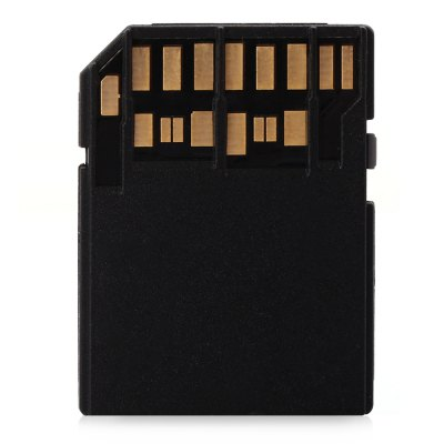 Meisen UHS II TF to SD Card Adapter for Super SpeedMemory Cards<br>Meisen UHS II TF to SD Card Adapter for Super Speed<br><br>Other Features: UHS II<br>Package Contents: 1 x  Meisen TF to SD Card Adapter<br>Package size (L x W x H): 5.20 x 4.20 x 0.70 cm / 2.05 x 1.65 x 0.28 inches<br>Package weight: 0.026 kg<br>Product size (L x W x H): 3.20 x 2.90 x 0.20 cm / 1.26 x 1.14 x 0.08 inches<br>Product weight: 0.001 kg<br>Type: Memory Card