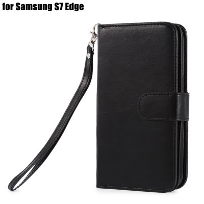 Crazy-horse PU Leather Protective Case for Samsung Galaxy S7 Edge