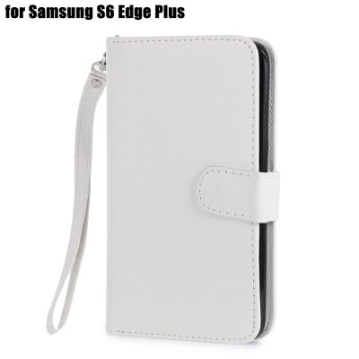 Crazy-horse PU Leather Protective Case for Samsung Galaxy S6 Edge Plus