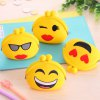 cheap Girls Cute Purse Cartoon Emoji Coin Wallet Silicone Headset Bag
