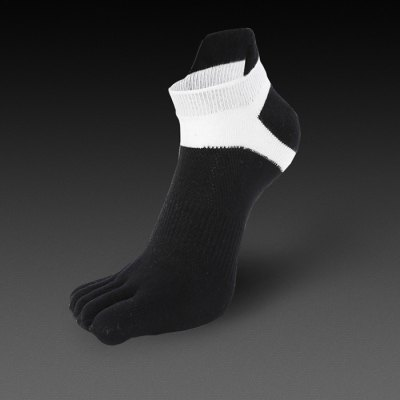 Paired Men Five Fingers Toes Socks