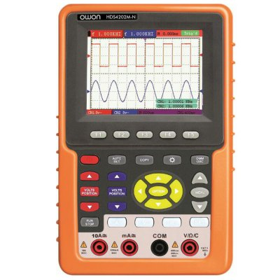 OWON HDS4202M - N 3.7 inch LCD Handheld Oscilloscope