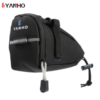 YANHO YA099 Bicycle Saddle BagBike Bags<br>YANHO YA099 Bicycle Saddle Bag<br><br>Brand: Yanho<br>Color: Black,Blue,Red<br>Emplacement: Saddle<br>For: Unisex<br>Material: Polyester<br>Model Number: YA099<br>Package Contents: 1 x YANHO YA099 Bicycle Saddle Bag<br>Package Dimension: 16.50 x 7.50 x 11.50 cm / 6.5 x 2.95 x 4.53 inches<br>Package weight: 0.0900 kg<br>Product Dimension: 15.50 x 6.50 x 10.50 cm / 6.1 x 2.56 x 4.13 inches<br>Product weight: 0.0500 kg<br>Suitable for: Touring Bicycle, Road Bike, Mountain Bicycle