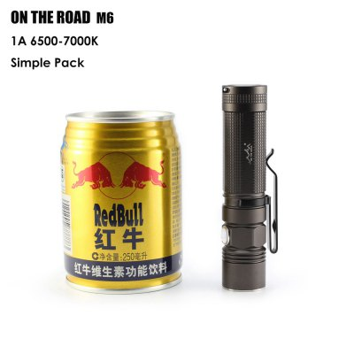 ON THE ROAD M6 LED Handheld Micro Flashlight