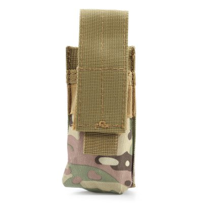 Mini Size Water-resistant Nylon Flashlight Tactical Pouch / Torch Bag
