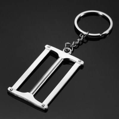 Creative Tool Model Saw Key Chain Ring Keyring Keychain