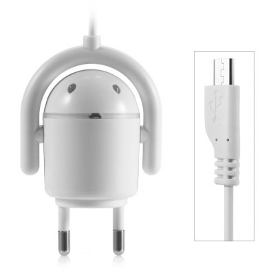 Robot Design Micro USB Cable Charger