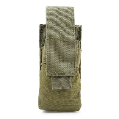 Mini Size Water-resistant Nylon Flashlight Tactical Pouch / Torch BagOther Accessories<br>Mini Size Water-resistant Nylon Flashlight Tactical Pouch / Torch Bag<br><br>For: Carrying magazine clip<br>Material: Nylon<br>Package Contents: 1 x Tactical Pouch<br>Package size (L x W x H): 15.00 x 6.50 x 2.00 cm / 5.91 x 2.56 x 0.79 inches<br>Package weight: 0.080 kg<br>Product size (L x W x H): 14.00 x 5.50 x 4.00 cm / 5.51 x 2.17 x 1.57 inches<br>Product weight: 0.045 kg