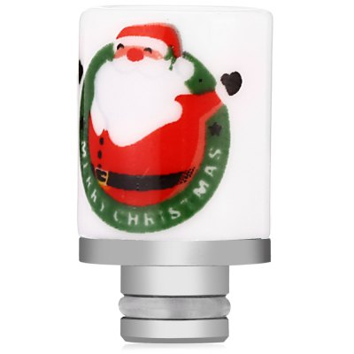 HY Santa Claus 510 Ceramic Drip TipAccessories<br>HY Santa Claus 510 Ceramic Drip Tip<br><br>Accessories type: Drip Tip<br>Material: Ceramic<br>Package Contents: 1 x HY Santa Claus 510 Ceramic Drip Tip<br>Package size (L x W x H): 2.40 x 2.40 x 3.40 cm / 0.94 x 0.94 x 1.34 inches<br>Package weight: 0.020 kg<br>Product size (L x W x H): 1.40 x 1.40 x 2.40 cm / 0.55 x 0.55 x 0.94 inches<br>Product weight: 0.007 kg<br>Type: Electronic Cigarettes Accessories