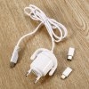 Robot Style Micro USB Cable Wall Charger Set for sale