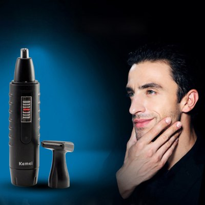 KM-9688 2 in 1 Rechargeable Nose Hair Shaver