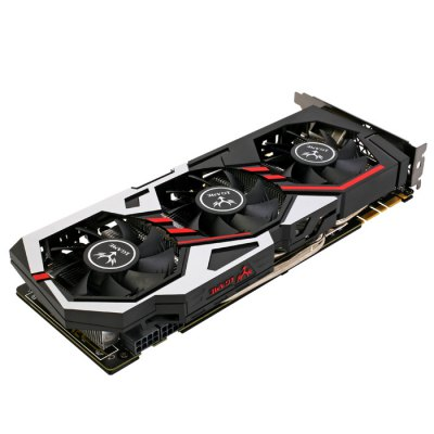 Original Colorful iGame1080 U - 8GD5X Top Graphics CardGraphics &amp; Video Cards<br>Original Colorful iGame1080 U - 8GD5X Top Graphics Card<br><br>Brand: Colorful<br>Built-in Cooler Fan: Yes<br>Display Core : GeForce GTX 1080<br>Interface Type: DP 1.4, DVI, HDMI<br>Manufacturing Process: 16nm<br>Material: Aluminum<br>Model: iGame1080 U - 8GD5X<br>Package size: 33.20 x 20.00 x 6.00 cm / 13.07 x 7.87 x 2.36 inches<br>Package weight: 1.620 kg<br>Packing List: 1 x Original Colorful iGame1080 U - 8GD5X Top Graphics Card, 1 x CD, 2 x 8 Pin Cable, 1 x English Manual<br>Power Interface: 8 + 8Pin<br>Product size: 30.20 x 14.80 x 4.50 cm / 11.89 x 5.83 x 1.77 inches<br>Product weight: 1.100 kg<br>Supports System: Win8 64, Win 2000, Win 2008, Win vista, Win XP, Win7 32, Win7 64, Win8 32<br>Video Card Memory Capacity: 8GB<br>Video Memory Bit Wide: 256bit<br>Video Memory Frequency: 10010MHz<br>Video Memory Type: GDDR5X
