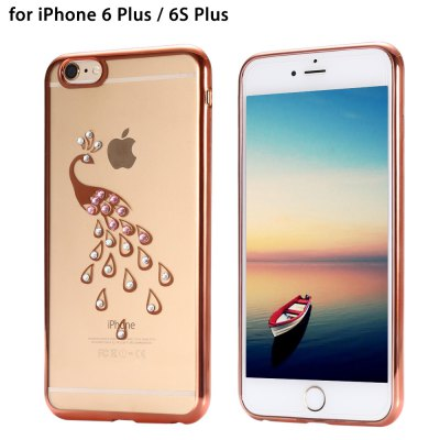 Diamond Look Protective Back Cover Case for iPhone 6 Plus / 6S Plus