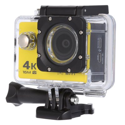 V3 4K WiFi Sport Camera 16MPAction Cameras<br>V3 4K WiFi Sport Camera 16MP<br><br>Model: V3<br>Type: Sports Camera<br>Type of Camera: 4K<br>Chipset Name: Allwinner<br>Chipset: Allwinner V3<br>Sensor: CMOS<br>Max External Card Supported: TF 64G (not included)<br>Screen size: 2.0inch<br>Screen type: LCD<br>Screen resolution: 320x240<br>Battery Type: Removable<br>Capacity: 900mAh<br>Charge way: AC adapter,USB charge by PC<br>Working Time: 70 - 90 minutes at 1080P<br>Wide Angle: 170 degree wide angle<br>Camera Pixel : 16MP / 12MP / 8MP / 5MP / 2MP<br>Optical Zoom  : Yes<br>Video format: MP4<br>Video Resolution: 1080P(30fps),1080P(60fps),2.7K (30fps),4K (30fps),720P (120fps),720P (30fps),720P (60fps)<br>Video Frame Rate: 120fps,30FPS,60FPS<br>Image Format : JPG<br>Audio System: Built-in microphone/speaker (AAC)<br>Exposure Compensation: +1,+2,+3,-1,-2,-3,0<br>White Balance Mode: Cloudy,Fluorescent,Incandescent,Sunny<br>Microphone: Built-in<br>WIFI: Yes<br>Waterproof: Yes<br>Waterproof Rating : 30m ( with the waterproof case )<br>Loop-cycle Recording : Yes<br>Loop-cycle Recording Time: 2min,3min,5min<br>Motion Detection: Yes<br>Night vision : No<br>HDMI Output: Yes<br>Delay Shutdown : Yes<br>Time Stamp: Yes<br>Camera Timer: No<br>Time lapse: Yes<br>Auto Focusing: No<br>Anti-shake: No<br>Aerial Photography: No<br>Language: Deutsch,Dutch,English,French,Indonesian,Italian,Japanese,Korean,Polski,Portuguese,Russian,Spanish,Thai<br>Frequency: 50Hz,60Hz<br>Product weight: 0.058 kg<br>Package weight: 0.515 kg<br>Product size (L x W x H): 5.92 x 2.98 x 4.10 cm / 2.33 x 1.17 x 1.61 inches<br>Package size (L x W x H): 16.50 x 6.00 x 27.00 cm / 6.5 x 2.36 x 10.63 inches<br>Package Contents: 1 x V3 Sport Camera, 1 x Battery, 1 x Power Adapter, 1 x Waterproof Housing, 1 x Holder, 1 x Bicycle Bracket, 1 x Quick Release Mount + Screw, 3 x Connector + Screw, 1 x Back Cover, 1 x Tripod Mount A