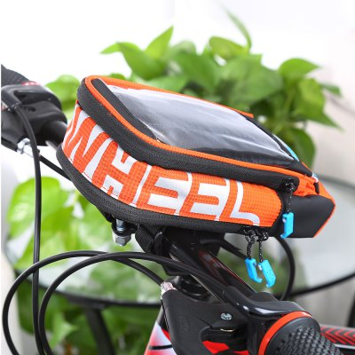 Roswheel 111272 Bike Front BagBike Bags<br>Roswheel 111272 Bike Front Bag<br><br>Brand: Roswheel<br>Color: Black,Orange<br>Emplacement: Handlebar<br>For: Unisex<br>Material: PVC, Nylon, Leather, EVA<br>Model Number: 111272<br>Package Contents: 1 x Roswheel Bicycle Front Bag<br>Package Dimension: 22.00 x 11.00 x 7.00 cm / 8.66 x 4.33 x 2.76 inches<br>Package weight: 0.2800 kg<br>Product Dimension: 21.00 x 10.00 x 6.50 cm / 8.27 x 3.94 x 2.56 inches<br>Product weight: 0.1760 kg<br>Suitable for: Cross-Country Cycling, Mountain Bicycle, Road Bike, Touring Bicycle