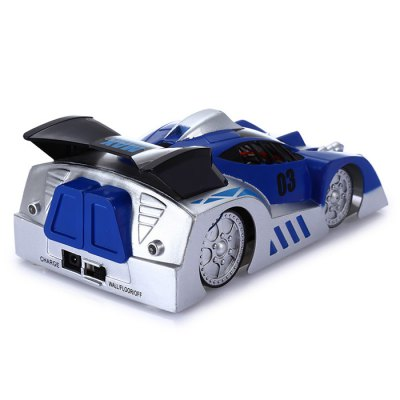 JJRC Q1W Wall Climbing CarRC Cars<br>JJRC Q1W Wall Climbing Car<br><br>Age: Above 8 years old<br>Brand: JJRC<br>Drive Type: Other<br>Functions: Climb, Forward/backward, LED, Turn left/right<br>Material: ABS<br>Motor Type: Brushed Motor<br>Package Contents: 1 x Wall Climbing Car, 1 x USB Cable, 1 x Chinese-English Manual<br>Package size (L x W x H): 14.00 x 6.50 x 21.00 cm / 5.51 x 2.56 x 8.27 inches<br>Package weight: 0.209 kg<br>Product size (L x W x H): 7.00 x 13.00 x 4.50 cm / 2.76 x 5.12 x 1.77 inches<br>Product weight: 0.063 kg<br>Remote Control: Bluetooth Remote Control<br>Type: Stunt Car