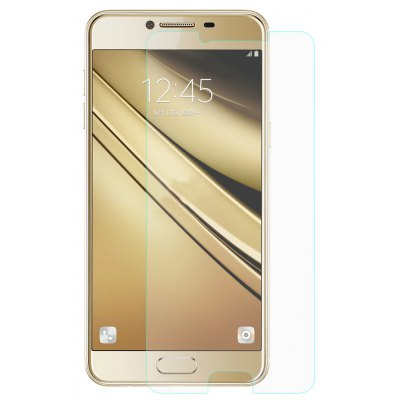 Hat - Prince Tempered Glass Screen Film for Samsung Galaxy C7