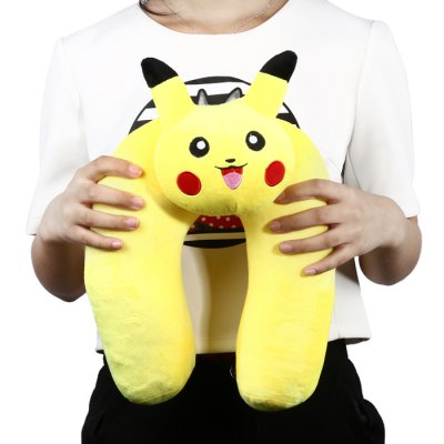 Cartoon U Shaped Neck Pillow Siesta Cushion Traveling GearCushion<br>Cartoon U Shaped Neck Pillow Siesta Cushion Traveling Gear<br><br>Type: Comfortable,Fashion,Leisure,Plush<br>For: Adults,Kids,Teenagers<br>Material: Plush<br>Occasion: Bedroom,Living Room,Office,School<br>Color: Yellow<br>Product weight: 0.285 kg<br>Package weight: 0.310 kg<br>Product size (L x W x H): 36.50 x 25.00 x 14.00 cm / 14.37 x 9.84 x 5.51 inches<br>Package size (L x W x H): 38.50 x 27.00 x 16.00 cm / 15.16 x 10.63 x 6.3 inches<br>Package Contents: 1 x U Shaped Neck Pillow