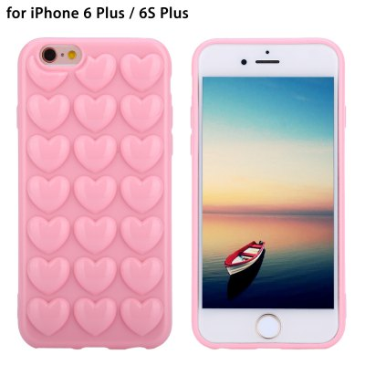 TPU Soft Protective Phone Back Case for iPhone 6 Plus / 6S Plus