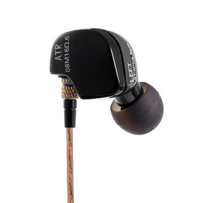 KZ ATR Dynamic HiFi Super Bass In Ear EarphonesEarbud Headphones<br>KZ ATR Dynamic HiFi Super Bass In Ear Earphones<br><br>Application: Portable Media Player, Mobile phone, Computer<br>Brand: KZ<br>Cable Length (m): 1.2m<br>Color: Black<br>Compatible with: Computer<br>Connectivity: Wired<br>Driver type: Dynamic<br>Frequency response: 20-20000Hz<br>Function: Noise Cancelling, HiFi<br>Impedance: 16ohms<br>Model: ATR<br>Package Contents: 1 x ATR Earphones, 4 x Earbud Tips<br>Package size (L x W x H): 7.00 x 10.00 x 3.20 cm / 2.76 x 3.94 x 1.26 inches<br>Package weight: 0.070 kg<br>Plug Type: 3.5mm, L-Bend<br>Product weight: 0.015 kg<br>Sensitivity: 106db<br>Type: In-Ear<br>Wearing type: In-Ear