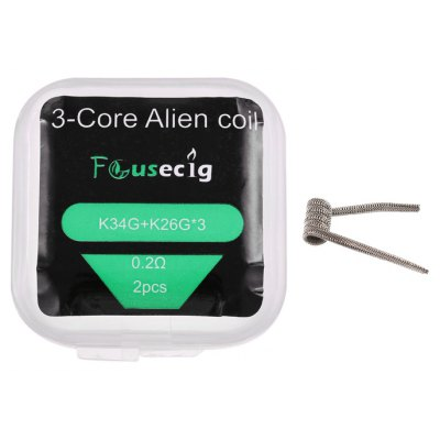 Original Focusecig 0.2 ohm 3-core Alien Coil ( 2pcs )