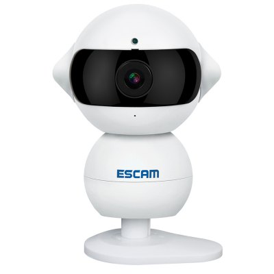 ESCAM Elf QF200 HD 960P WiFi IP CameraIP Cameras<br>ESCAM Elf QF200 HD 960P WiFi IP Camera<br><br>Audio Input: Built-in mic.<br>Audio Output: External speaker<br>Brand: ESCAM<br>Color: White<br>Electronic Shutter: 1/25 - 1/100000s<br>Frame Rate (FPS): 1 - 25fps adjustable<br>Infrared Distance: 5m<br>Infrared LED: 8pcs<br>IP camera performance: Night Vision, Support video control, Motion Detection, Real-time video capture and recording<br>Local-storage: Micro SD card up to 64GB<br>Minimum Illumination: Color 0.6Lux F1.2, B / W 0.08Lux F1.2, 0Lux IR on<br>Mobile Access: Android<br>Model: Elf QF200<br>Operate Temperature (?): -10 - 50 centigrade<br>Package Contents: 1 x IP Camera, 1 x Power Adapter ( 110 - 240V Input ), 1 x USB Cable, 1 x Metal Pad, 2 x Adhesive, 2 x Screw, 2 x Expansion Bolt, 1 x Support Needle, 1 x Chinese / English User Manual<br>Package size (L x W x H): 15.50 x 9.50 x 8.50 cm / 6.1 x 3.74 x 3.35 inches<br>Package weight: 0.343 kg<br>Pixels: 1.3MP<br>Product size (L x W x H): 6.20 x 7.50 x 9.50 cm / 2.44 x 2.95 x 3.74 inches<br>Product weight: 0.162 kg<br>Protocol: DDNS,DHCP,FTP,NTP,PPPOE,RTSP,UPNP<br>Resolution: 1280 x 960,640 x 480<br>S/N Ration: 50dB and more<br>Sensor: CMOS<br>Sensor size (inch): 1/4<br>Shape: Mini Camera<br>Specification of Power Supply: DC 5V<br>Technical Feature: Infrared<br>Video Compression Format: H.264<br>White Balance: Auto<br>Wireless: WiFi 802.11 b/g/n<br>Working Humidity (%) RH: 0 - 90 percent