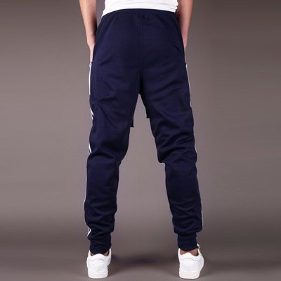 Men Casual Tapered Sweatpants Harem Pants Gym Trousers JoggersWeight Lifting Clothes<br>Men Casual Tapered Sweatpants Harem Pants Gym Trousers Joggers<br><br>Features: Breathable<br>Material: Polyester<br>Package Content: 1 x Men Harem Pants<br>Package size: 35.00 x 15.00 x 6.00 cm / 13.78 x 5.91 x 2.36 inches<br>Package weight: 0.400 kg<br>Product weight: 0.350 kg<br>Size: 2XL,L,XL