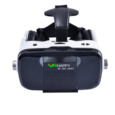 VR HAPPY Virtual Reality Headset 3D Glasses with Microphone