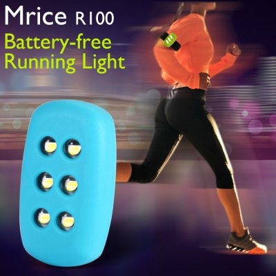 Mrice R100 Battery-free LED Light Night Running Motion Induction