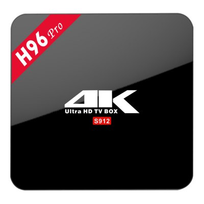 H96 PRO Android TV Box Amlogic S912 Octa Core