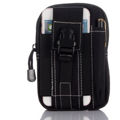 Outdoor Tactical Waist Bag Fanny Pack for Phone Wallet Flashlight Compass