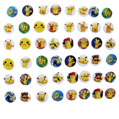 Plastic Badge - 48pcs / set