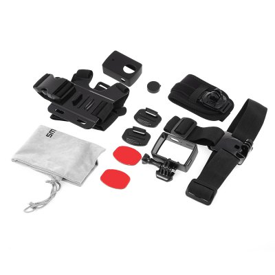 SMACO CPK062 7 in 1 Accessory Kit for Xiaomi Yi 2