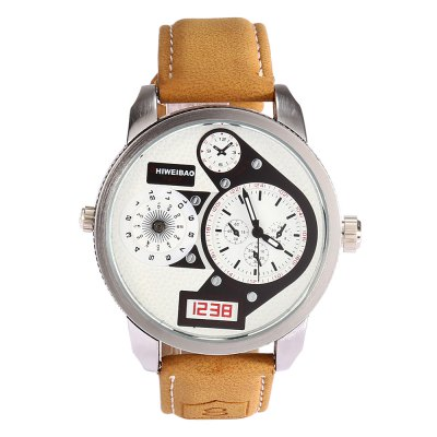 SHIWEIBAO A3135 - 9 Casual Men Quartz WatchMens Watches<br>SHIWEIBAO A3135 - 9 Casual Men Quartz Watch<br><br>Brand: Shiweibao<br>Watches categories: Male table<br>Watch style: Casual<br>Available color: Blue,Green,Red,White<br>Movement type: Quartz watch<br>Shape of the dial: Round<br>Display type: Analog<br>Case material: Stainless Steel<br>Band material: Leather<br>Clasp type: Pin buckle<br>Water resistance : Life water resistant<br>Dial size: 4.6 x 4.6 x 1.5 cm / 1.81 x 1.81 x 0.59 inches<br>Band size: 25.8 x 2.2 cm / 10.2 x 0.87 inches<br>Wearable length: 19.5 - 23.7 cm / 7.68 - 9.33 inches<br>Product weight: 0.064 kg<br>Package weight: 0.128 kg<br>Product size (L x W x H): 25.80 x 4.60 x 1.50 cm / 10.16 x 1.81 x 0.59 inches<br>Package size (L x W x H): 8.50 x 8.00 x 5.30 cm / 3.35 x 3.15 x 2.09 inches<br>Package Contents: 1 x SHIWEIBAO A3135 - 9 Casual Men Quartz Watch, 1 x Box