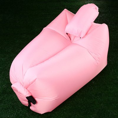 Ultralight Inflatable Lazy Sofa with Pillow Beach Chair for Leisure Activities