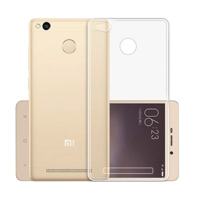 Luanke Transparent TPU Soft Case for Xiaomi Redmi 3
