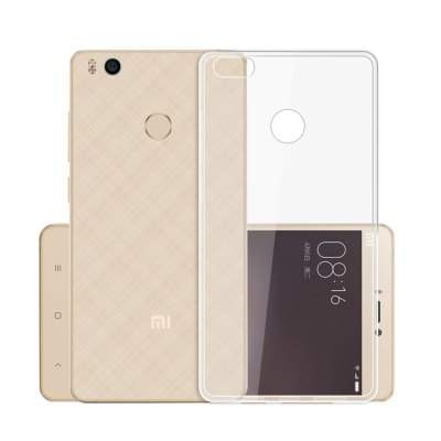 Luanke Transparent TPU Soft Case for Xiaomi 4S