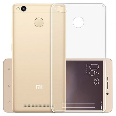 Luanke Transparent Phone Case for Xiaomi Redmi 3