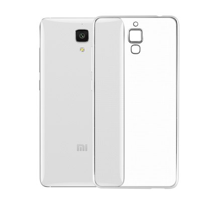 Luanke TPU Soft Protective Case for Xiaomi 4Cases &amp; Leather<br>Luanke TPU Soft Protective Case for Xiaomi 4<br><br>Brand: Luanke<br>Color: Silver<br>Compatible Model: Xiaomi 4<br>Features: Anti-knock, Back Cover<br>Mainly Compatible with: Xiaomi<br>Material: TPU<br>Package Contents: 1 x Protective Case<br>Package size (L x W x H): 21.00 x 10.50 x 2.50 cm / 8.27 x 4.13 x 0.98 inches<br>Package weight: 0.065 kg<br>Product Size(L x W x H): 14.20 x 7.10 x 0.90 cm / 5.59 x 2.8 x 0.35 inches<br>Product weight: 0.014 kg<br>Style: Transparent