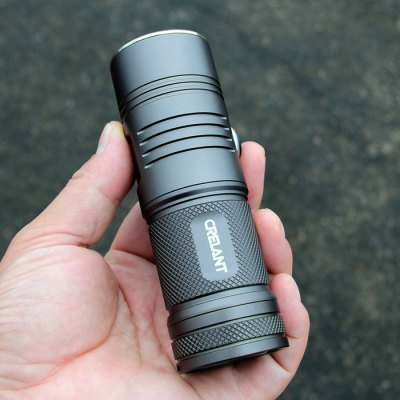 CRELANT V4A  LED FlashlightLED Flashlights<br>CRELANT V4A  LED Flashlight<br><br>Battery Quantity: 4 x AA battery (not included)<br>Battery Type: AA<br>Beam Distance: 500-600m<br>Body Material: Aluminium Alloy<br>Brand: CRELANT<br>Color Temperature: 6500K / 5300-5400K<br>Emitters: Cree XP-L HI<br>Emitters Quantity: 1<br>Feature: Cooling Slot of High Efficiency, Infinitely Variable Brightness, Lanyard<br>Function: Walking, Night Riding, Household Use, Hiking, EDC, Camping<br>Lumens Range: &gt;1000Lumens<br>Luminous Flux: 1095Lm<br>Max.: 95min<br>Mode: 5 (High; Low; Strobe; SOS; Dimming Light)<br>Mode Memory: Yes<br>Model: V4A<br>Package Contents: 1 x CRELANT V4A LED Flashlight, 1 x Lanyard, 1 x O-ring<br>Package size (L x W x H): 20.50 x 9.90 x 5.40 cm / 8.07 x 3.9 x 2.13 inches<br>Package weight: 0.390 kg<br>Power: 10W<br>Power Source: Battery<br>Product size (L x W x H): 12.40 x 4.15 x 4.15 cm / 4.88 x 1.63 x 1.63 inches<br>Product weight: 0.210 kg<br>Reflector: Aluminum Smooth Reflector<br>Waterproof Standard: IPX-8 Standard Waterproof<br>Working Voltage: 2.7-6V