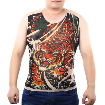 Tattoo Sleeveless T Shirt