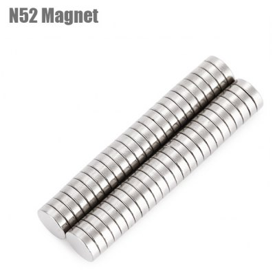 7 x 7 x 2mm N52 Powerful NdFeB Round Magnet for Kid DIY