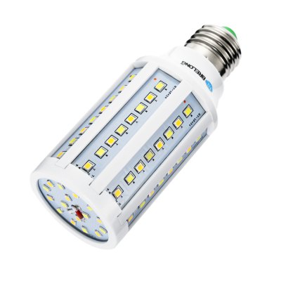 BREL0NG E27 LED Corn BulbCorn Bulbs<br>BREL0NG E27 LED Corn Bulb<br><br>Available Light Color: White<br>Brand: BRELONG<br>CCT/Wavelength: 3000-6500K<br>Emitter Types: SMD 2835<br>Features: Long Life Expectancy, Energy Saving, Dimming<br>Function: Studio and Exhibition Lighting, Home Lighting, Commercial Lighting<br>Holder: E27<br>Luminous Flux: 900LM<br>Output Power: 10W<br>Package Contents: 1 x BRELONG E27 LED Corn Bulb<br>Package size (L x W x H): 13.00 x 6.00 x 6.00 cm / 5.12 x 2.36 x 2.36 inches<br>Package weight: 0.110 kg<br>Product size (L x W x H): 12.00 x 5.00 x 5.00 cm / 4.72 x 1.97 x 1.97 inches<br>Product weight: 0.077 kg<br>Total Emitters: 80<br>Type: Corn Bulbs<br>Voltage (V): AC 85-265
