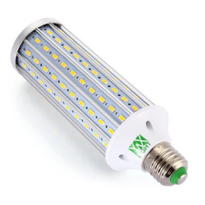 YWXLight 40W LED Corn BulbCorn Bulbs<br>YWXLight 40W LED Corn Bulb<br><br>Available Light Color: Warm White,White<br>Brand: YWXLight<br>CCT/Wavelength: 2800-3200K,6000-6500K<br>Emitter Types: SMD 5730<br>Features: Low Power Consumption, Long Life Expectancy<br>Function: Studio and Exhibition Lighting, Commercial Lighting, Home Lighting<br>Holder: E27<br>Lifespan: Over 30000h<br>Luminous Flux: 3500-4000LM<br>Output Power: 40W<br>Package Contents: 1 x YWXLight E27 LED Corn Bulb<br>Package size (L x W x H): 20.00 x 6.00 x 6.00 cm / 7.87 x 2.36 x 2.36 inches<br>Package weight: 0.220 kg<br>Product size (L x W x H): 18.50 x 5.50 x 5.50 cm / 7.28 x 2.17 x 2.17 inches<br>Product weight: 0.178 kg<br>Sheathing Material: Aluminum<br>Total Emitters: 140<br>Type: Corn Bulbs<br>Voltage (V): AC 85-265