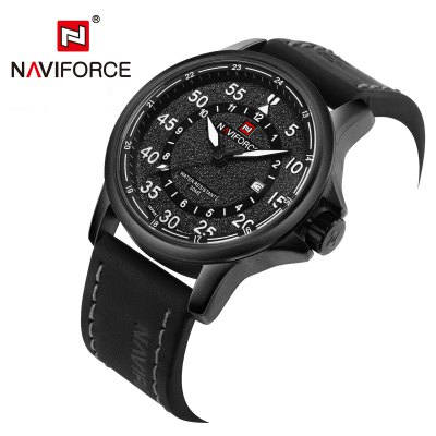 NAVIFORCE NF9076 Casual Men Quartz WatchMens Watches<br>NAVIFORCE NF9076 Casual Men Quartz Watch<br><br>Available Color: Gray,Red,White,Yellow<br>Band material: PU<br>Band size: 25 x 2.4 cm / 9.84 x 0.94 inches<br>Brand: Naviforce<br>Case material: Alloy<br>Clasp type: Pin buckle<br>Dial size: 4.6 x 4.6 x 1.4 cm / 1.81 x 1.81 x 0.55 inches<br>Display type: Analog<br>Movement type: Quartz watch<br>Package Contents: 1 x NAVIFORCE NF9076 Casual Men Quartz Watch, 1 x Box<br>Package size (L x W x H): 11.50 x 8.60 x 6.60 cm / 4.53 x 3.39 x 2.6 inches<br>Package weight: 0.1980 kg<br>Product size (L x W x H): 25.00 x 4.60 x 1.40 cm / 9.84 x 1.81 x 0.55 inches<br>Product weight: 0.0830 kg<br>Shape of the dial: Round<br>Special features: Date<br>Watch style: Casual<br>Watches categories: Male table<br>Water resistance : 30 meters